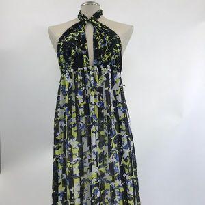 Peter Pilotto Floral maxi dress. Size L